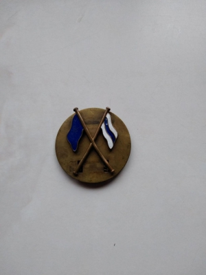 RAF Station Hornchurch 25mm pin badge