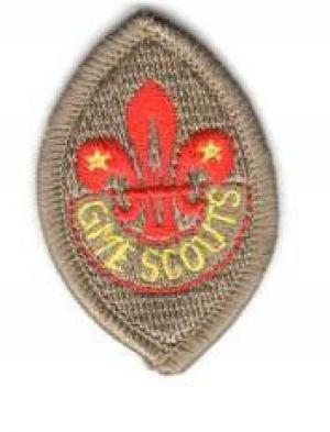 24th World Scout Jamboree 2019 Badge Unit 1 /&2 Derbyshire one piece