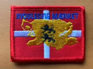 SMALL KIRIBATI country FLAG sew Iron On Patch 1682