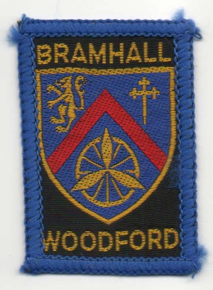 [Bramhall Woodford District Badge]